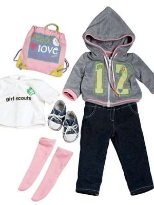 Girl Scout Trendy Ensemble