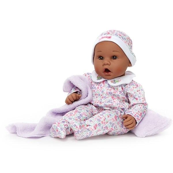Middleton Doll Newborn Baby Lavender - African-American