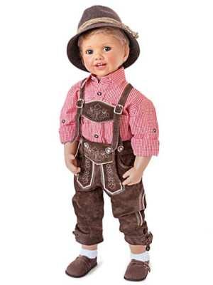 Luis in Bavarian Costume