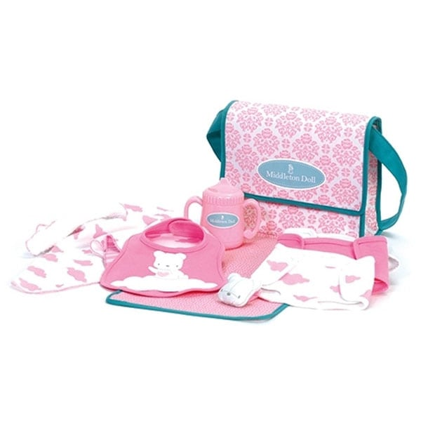 Middleton Doll Newborn Diaper Bag and Accessories