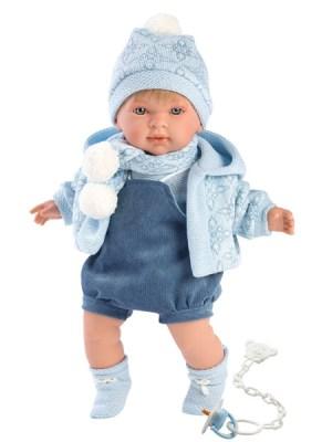 Soft Body Crying Baby Doll Benjamin