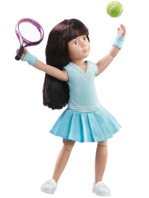 Luna Tennis Practice