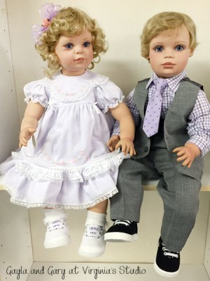 Gary and Gayla, OOAK