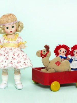 Marcella Takes A Trip With Raggedy Ann And Andy