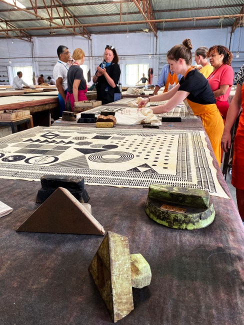 woodblock printing at jaitexart in jaipur, india with ace camps