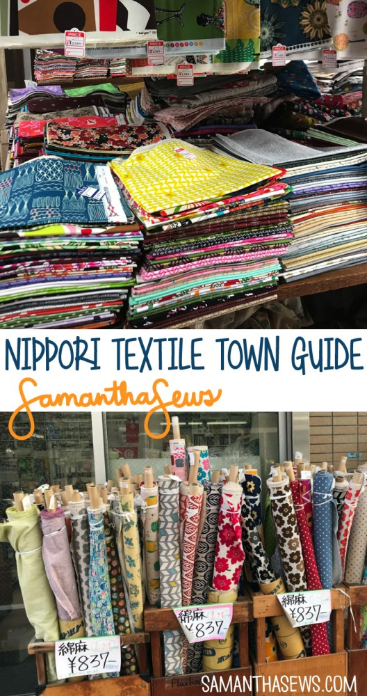 Nippori Textile Town Guide