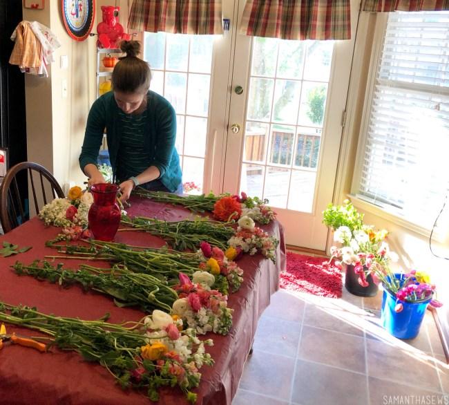 DIY wedding flowers - make your own bridal bouquet