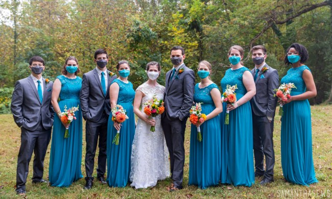 DIY backyard wedding planning during COVID-19