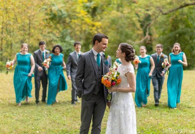 wedding photography - DIY backyard wedding