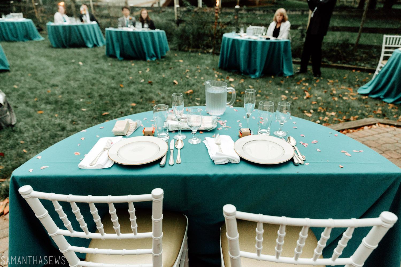 wedding planning - backyard wedding during COVID-19