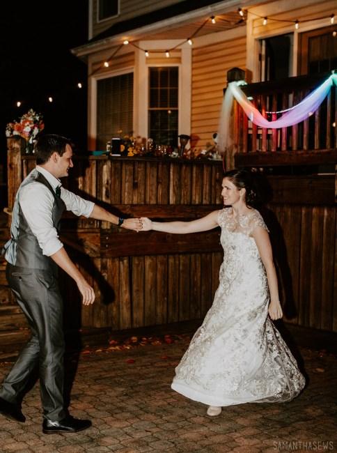 i made my wedding dress - handmade lace wedding dress