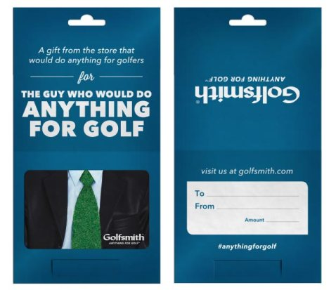 Turf Tie gift card (Golfsmith)