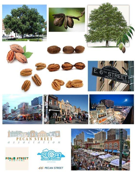 Pecan Street Inspiration Board
