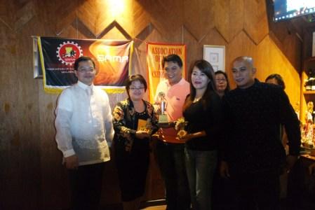 From left: Consul Mers, Beka, Ferdie, Jeanette