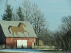 Cute barn in Indiana