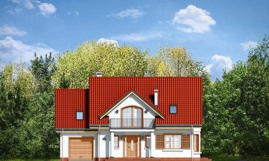 Проект кирпичного дома 230 м2 - готовые проекты домов ...