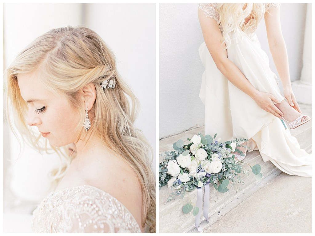 Sam Areman Photo - Casablanca Bridal - French Provincial Editorial Wedding - Blush Bridal - Petals to Platinum - Lovebird Jewelry Collective