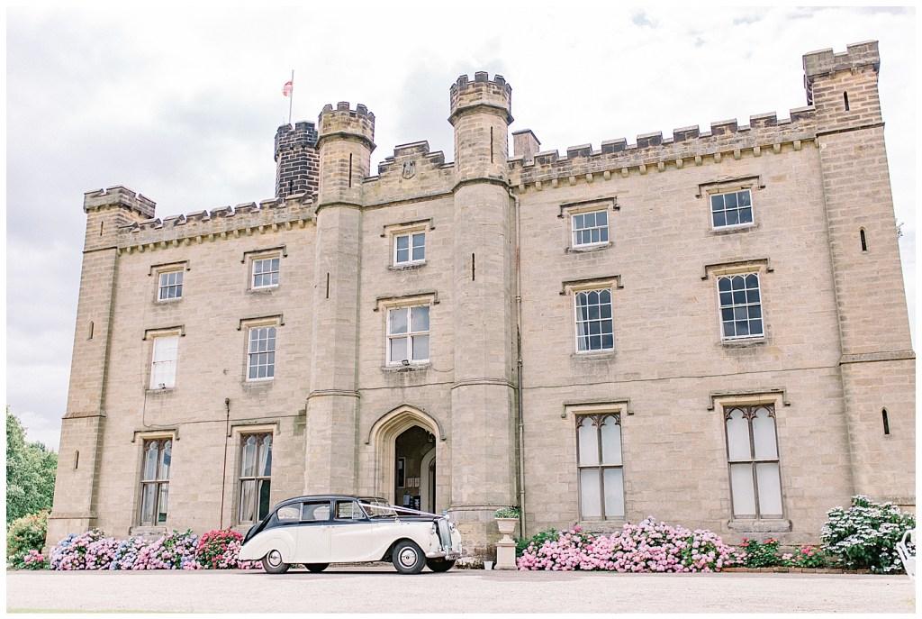 Chiddingstone Castle Summer Wedding - Vintage Car