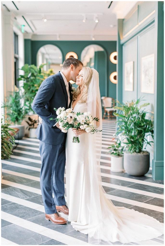 Wedding Photos at the Kimpton Cottonwood Hotel in Omaha Nebraska