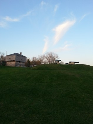 Canons and the Blockhouse.