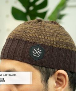 peci-rajut-samase-new-cap-rajut-t0183-brown