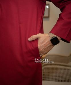 jubba-reguler-panjang-r0103-red-cotton-two-tone_1