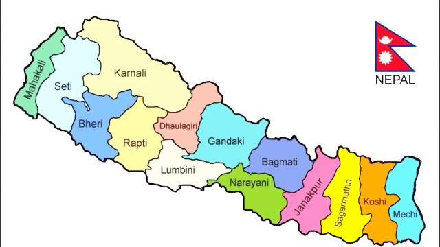 nepal map
