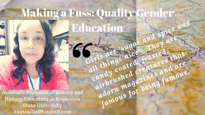 Making a Fuss: Quality Gender Education