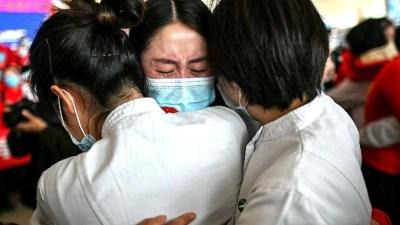 संसार लकडाउनमा, चाईनाको वुहान खुल्दै: हेर्नुहोस फोटो फिचर