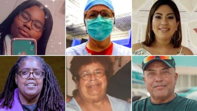 These are some of the 91,000 people who've died since…