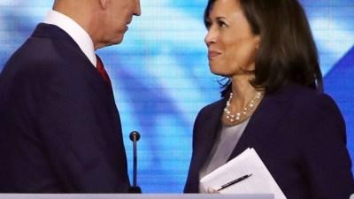 Joe Biden selects Kamala Harris as his running mate