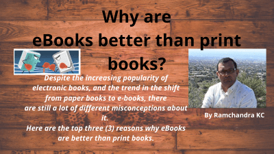 Why are eBooks better than print books?
