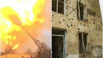अजरबैजानमा अर्मेनियाले गरेको आक्रमणमा परी १२ जनाको मृत्यु