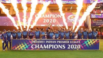 मुम्बईलाई कीर्तिमानी पाचौँ पटक आईपीएल क्रिकेटको उपाधि