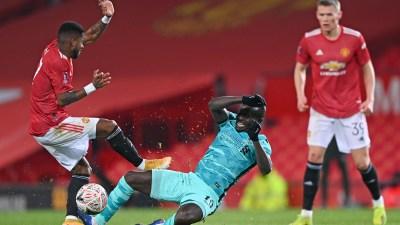 एफए कप फुटबलः लिभरपुललाई हराउँदै युनाईटेड पाँचौं चरणमा
