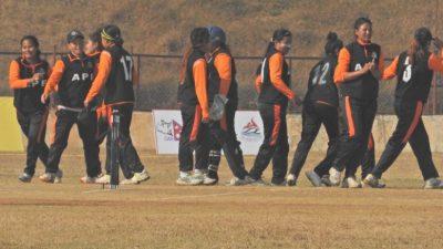 प्रधानमन्त्री कप महिला क्रिकेटको फाइनल आज, उपाधिका लागि एपिएफ र…