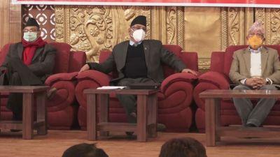 प्रचण्ड-नेपाल पक्षले गर्यो दोस्रो चरणको आन्दोलन घोषणा (कार्यक्रमसहित)