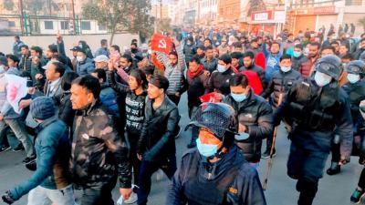 आमहड्ताल अपडेट : नेकपाका केन्द्रीय नेतासहित १५४ जना गिरफ्तार
