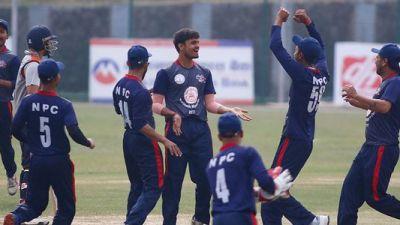 काठमाडौँ मेयर कप क्रिकेटको उपाधि पुलिस क्लबलाई