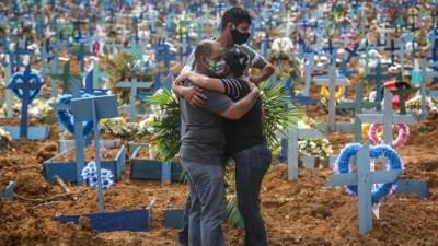 ब्राजिलमा कोभिडबाट २४ घन्टामा तीन हजार ४७२ को मृत्यु