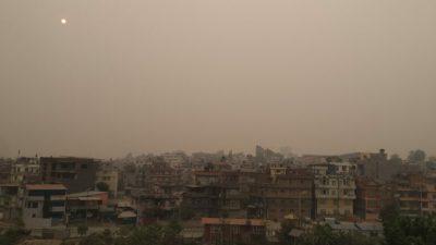 वायु प्रदूषणले आँखाका बिरामी बढ्दै