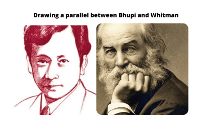 Drawing a parallel between Bhupi and Whitman