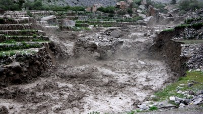 Uncertainty looms over future of Manang students after flood damages…