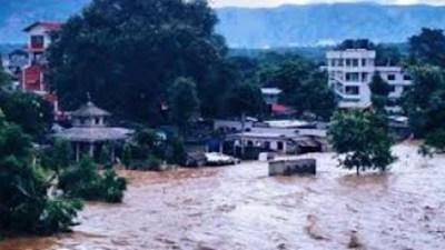 सेतीवेणी बजार डुबानमाः १० घर विस्थापित