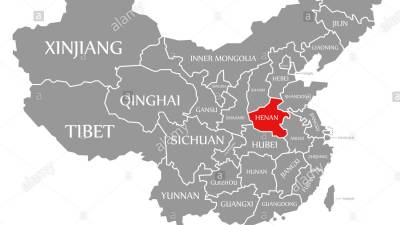 चीनको हेनान प्रान्तमा बाढी ७३ व्यक्तिको मृत्यु