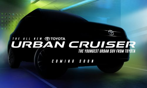 """Toyota Kirloskar Motor Forays into the Compact SUV Segment with its youngest SUV """"Toyota Urban Cruiser"""""""