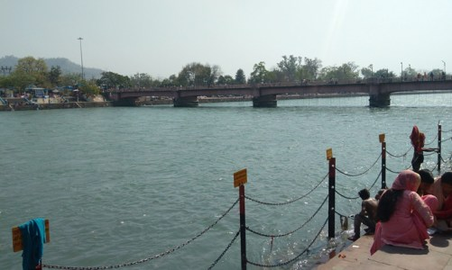 GIS-based mapping of microbial diversity of river Ganga