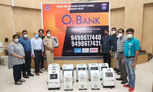 SCSC & Cyberabad Police launched O2 Bank in collaboration with Breath India, EO & Alai NGOs