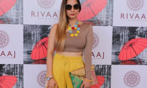 Vanitaa Rawat a well known Content Creator and NLP Practitioner, inaugurates Rivaaj (Fashion – Lifestyle – Art) exhibition