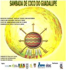 >Sambada de Coco do Guadalupe: Salve a Jurema Sagrada!